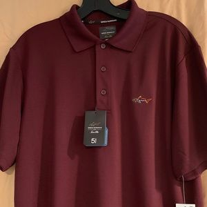 Greg Norman For Tasso Performance Golf Polo